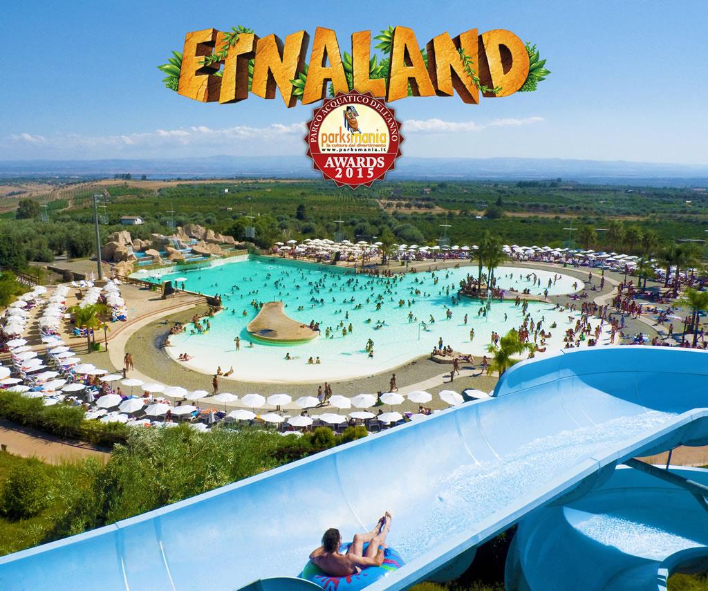 Etnaland miglior Parco acquatico dell'anno 2015