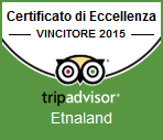 Etnaland, for the third year, winner of the Certificate of Excellence Tripadvisor.